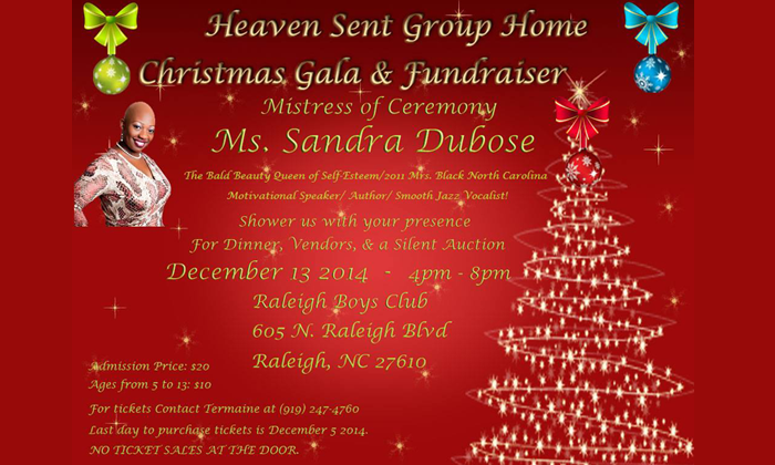 2014 Christmas Gala Advertisement